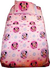 Minnie Mouse Twin Bed 3 Pcs Bedding Set for Kids