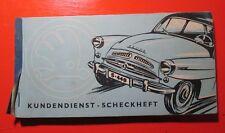 Kundendienst Scheckheft Fur Den Wagen Skoda 440, Škoda 440, (1955–1959) Spartak