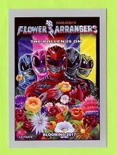 "2017 TOPPS WACKY PACKAGES 50TH ""SILVER BORDER"" FLOWER ARRANGERS #07/50"