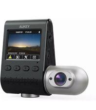 New listing Aukey Dual Dash Cam Uber 3 in 1 Fhd 1080p Ir Night Vision Car Camera 170 Degrees