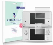iLLumiShield Matte Screen Protector w Anti-Glare/Print 3x for Nintendo DSi
