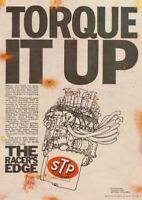 STP Torque Vintage Garage Advertising Sign Classic Shed Plaque Car Motor ManCave