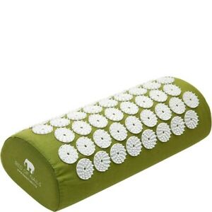 Bed Of Nails Acupressure Pillow Green Brand New Boxed
