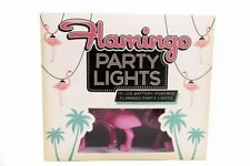 Flamingo String Party Lights.  10 Led's. Very Kitsch