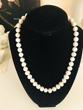 Authentic White Round 10-11 Mm South Sea Pearl Necklace