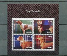 Ghana 2014 MNH Dog Breeds 4v M/S Pets Dogs Polish Pharaoh Hound Dachsbracke