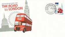 L4391sbs Australia 2012 Road to London Olympics 60c FDC