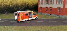 Rtw 1:87,Feuerwehr Düsseldorf,H0 Einsatzfahrzeug,Umbau 1:87,Modellauto,(017)