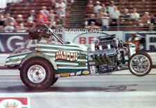 """Dave Hough """"Nanook"""" AA/Fuel Altered """"Wheels UP"""" PHOTO! #(4)"""