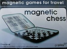 GoPlay Magnetic Chess Travel Camping Game In Self Contained Compact Tin Box