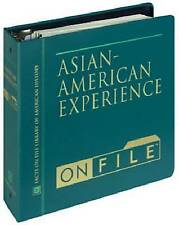 Asian-American Experience on File (Ethnic Minorities in America), Projects, Very