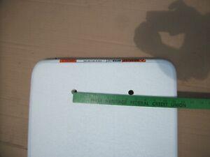 INTERFAB 6 Foot Residential FIBERGLASS Diving Board - Radiant White
