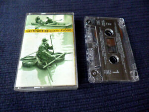 MC Cassette Kassette Audio Tape They Might Be Giants - Flood 1990 Istanbul RARE