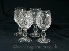 Crystal Glass  A Pair of Brandy Glasses