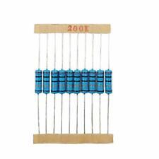 Teohk 230pcs 2w Resistor Kit 23 Values Resistor Assortment Through Hole Met