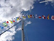 Signalflaggen Satz Watzki 14x18cm Internationales Flaggenalphabet neu OVP 10x30