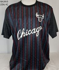 BRAND NEW MITCHELL & NESS CHICAGO BULLS SUBLIMATED PULLVOVER SHOOTING SHIRTS