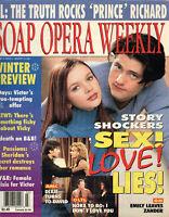 SOAP OPERA WEEKLY January 16 2001 Amber Tamblyn Chad Brannon General Hospital
