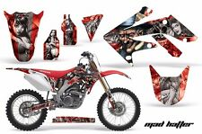 AMR Racing Graphics Decal Kit Honda CRF 250R Sticker Wrap 2004-2009 HATTER SLV R