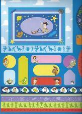 Disney TOY STORY Scrapbook Die Cut Set - Frames, Tags, etc