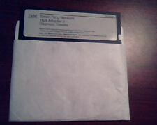 Floppy IBM Token-Ring Network 16/4 Adapter II Diagnosic Diskette 5.25 inch