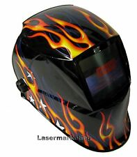 AUTO DARKENING WELDING HELMET WELDERS MASK Solar STAR FIRE**