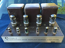 HARMAN KARDON CITATION II STEREOPHONIC HIGH FIDELITY TUBE POWER AMPLIFIER