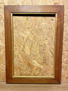 Frame Antique Walnut And Gold Embellishment, End 19th Century, Deco Vintage Chic
