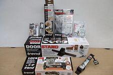 TREND DOOR FITTING PACKAGE ROUTER LOCK JIG DOOR LIFT CORNER CHISEL CUTTER ETC
