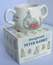 Wedgewood Double Handled Peter Rabbit Mug (Beatrix Potter)