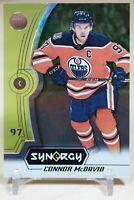 Connor McDavid 2018-19 Upper Deck Synergy Green #1 Edmonton Oilers