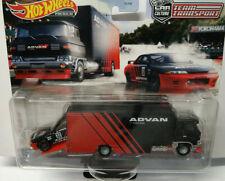 Hot Wheels Team Transport Nissan Skyline GT-R (BNR32) Sakura Sprinter Advan  #27
