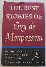 THE BEST STORIES OF GUY DE MAUPASSANT