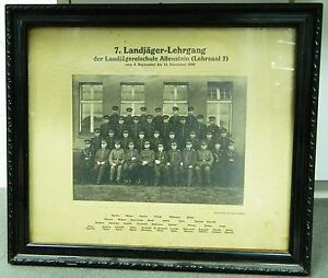 Original Foto 7.ter Landjäger Lehrgang ca. 1930 Landjägereischule Allenstein
