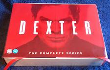 DEXTER - THE COMPLETE SERIES (SEASONS 1 - 8 DVD SET) UK.