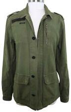 Scotch & Soda Maison Scotch Women 2 Military Jacket Olive Green Utility Field