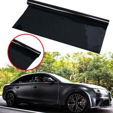 """Car Window Tint Limo Dark Black 1% VLT 20"""" In x 10' Feet Uncut Roll Auto Film"""