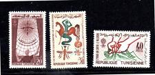 TUNISIA 404-406  1962 WHO DRIVE TO ERADICATE MALARIA  MINT VF NH O.G