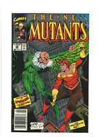 New Mutants #86 VF 8.0 Newsstand Marvel Comics 1990 1st Cable Cameo, Rob Liefeld