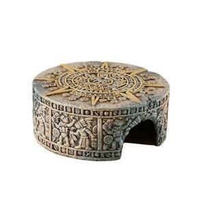 Exo Terra Aztec Calendar Stone Reptile Hide Out - Small