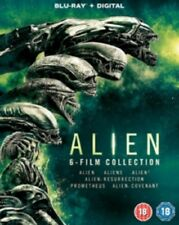 Alien 6 film Collection (Sigourney Weaver) Six New Region B Blu-ray + Digital