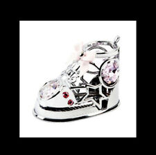 Baby Shoe Pink Crystocraft Swarovski Crystal Ornament Keepsake Christmas Gift BN