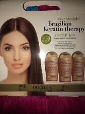 Organix Brazilian Keratin Therapy Ever Straight 4-Step Kit