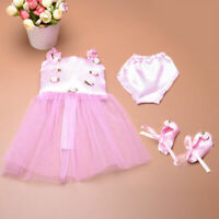 Doll Clothes Ballet Ballerina Outfit Fit Girl & 18 Inch Dolls Fast shipping J4H5
