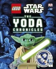 Lego Star Wars Yoda Chronicles HC Book with clone commander exclusive figure BN