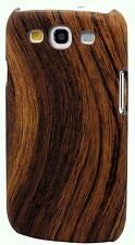 for samsung galaxy S3 wood looking case cover brown white red