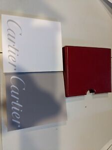 BLANK  Genuine Cartier  Warranty and  Instruction Manual For Cartier Pasha