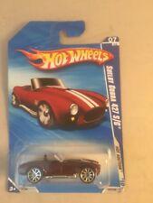 hotwheels shelby cobra 427 2010 hot auction - hotwheels hot auction shelby cobra
