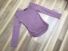 Damen Langarmshirt Bluse Shirt Gr. S 36 Umstandskleidung