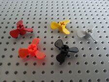 LEGO 4 x Buse Hélice 3.5 Dia 6041 noir 3 ailes
